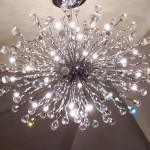 Lustres modernos de cristal
