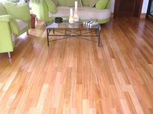 Carpete de madeira na Sala