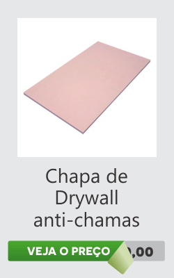 Chapa Drywall Forro de gesso