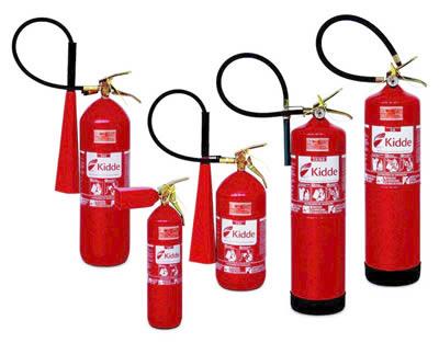 Extintores portáteis