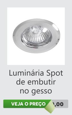 Luminaria Sanca de Gesso