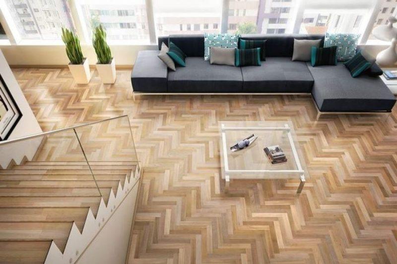 Textura tradicional de pisos parquet. Atualmente é possível encontrar esse tipo de piso nas mais diversas texturas e composições.