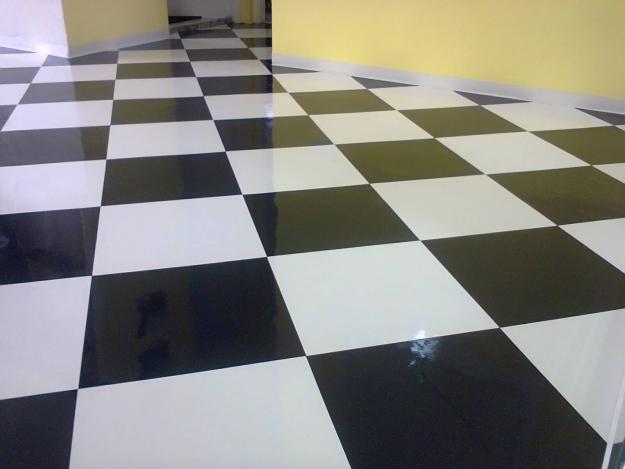 Paviflex preto e branco