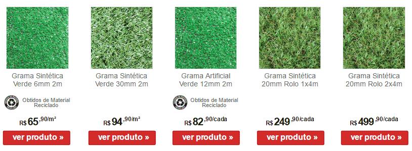 Confira de perto essas ofertas em gramados sintéticos