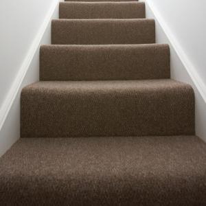 Carpete na escada
