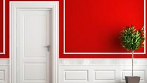 Cor de tinta vermelha