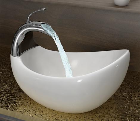 Cubas para banheiro Oval
