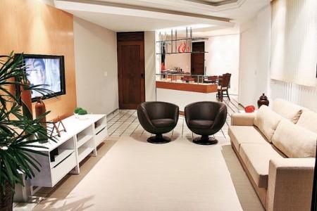 decoração de apartamentos pequenos mobiliados
