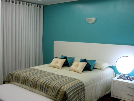 decoração de quarto de casal pequeno