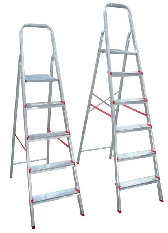 escadas de alumínio