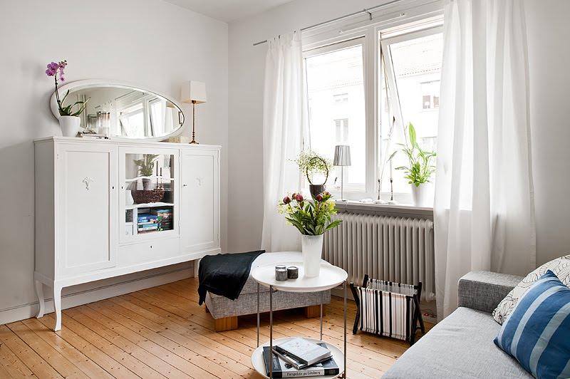 decoração de apartamentos pequenos branca