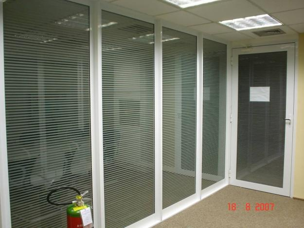 divisórias de vidro