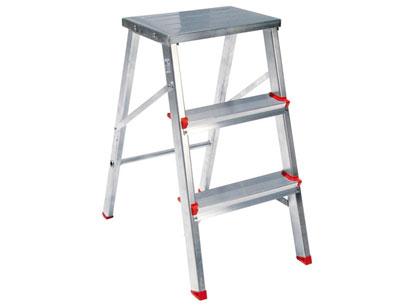 escada de aluminio tipo baqueta