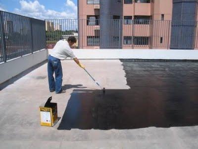 Impermeabilização manta liquida