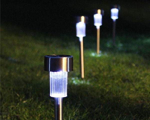 luminárias solares