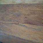 madeira de demolição com textura rústica