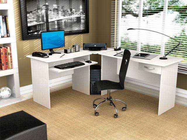 Mesa da canto para escritório