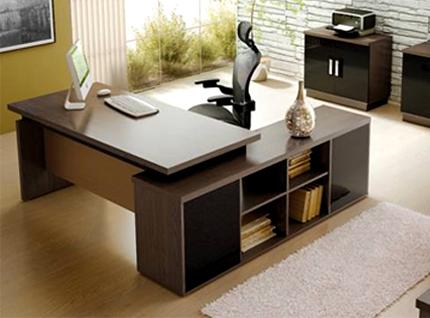 Mesa para escrit rio decorando seu escrit rio for Mesa escritorio moderna