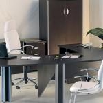 mesa de escritório preta