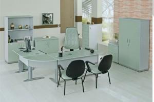 móveis para escritório brancos