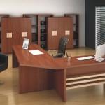 móveis para escritório de madeira