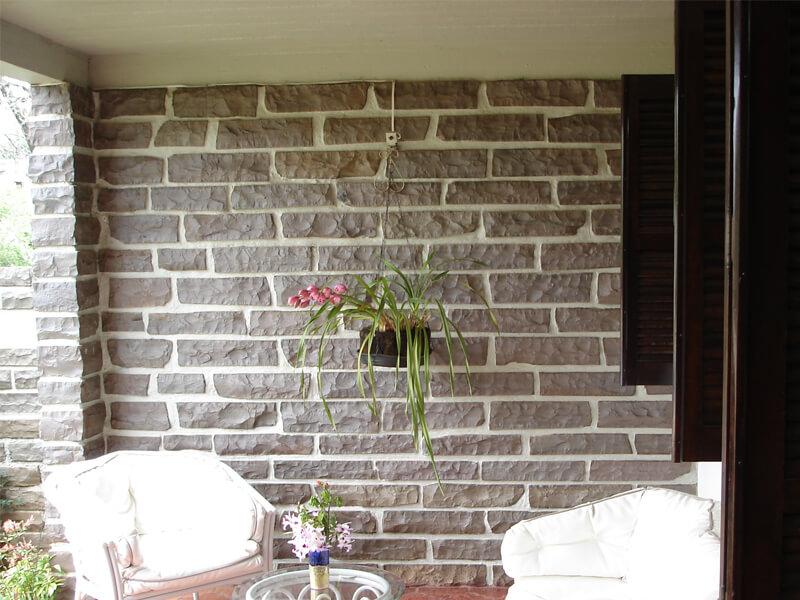 parede de basalto