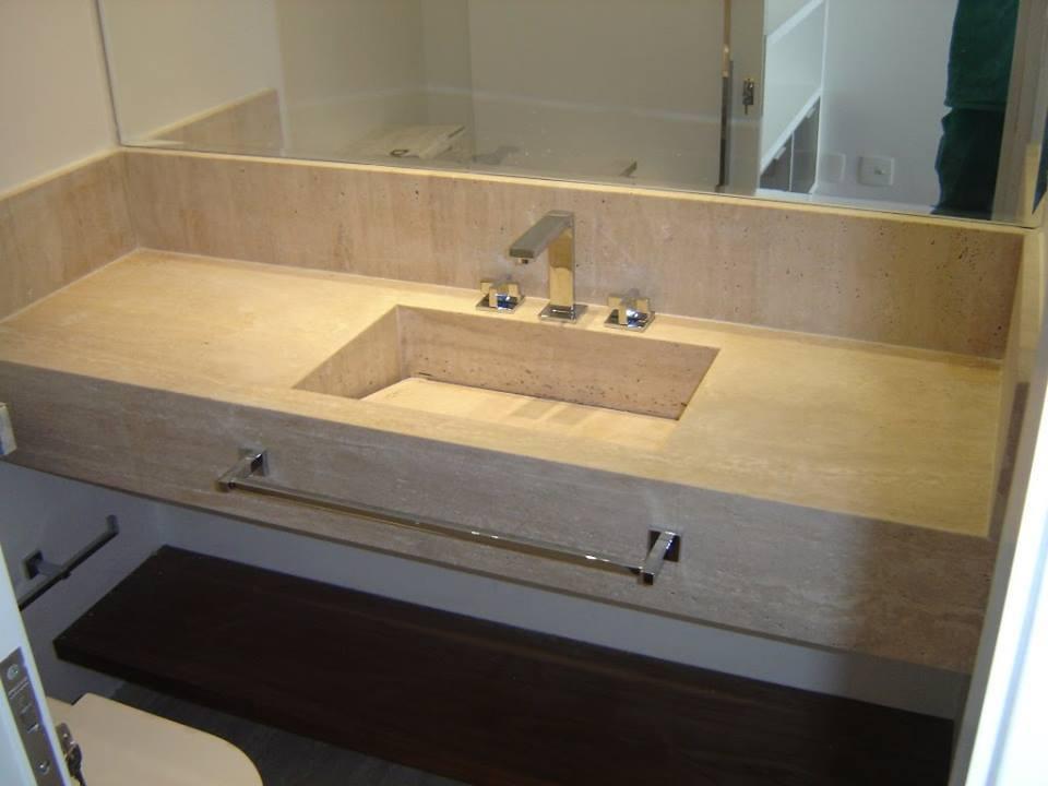 Granito→ +35 Tipos, Cores e Modelos  Preços de Granito AQUI!!! -> Pia Para Banheiro Tumelero