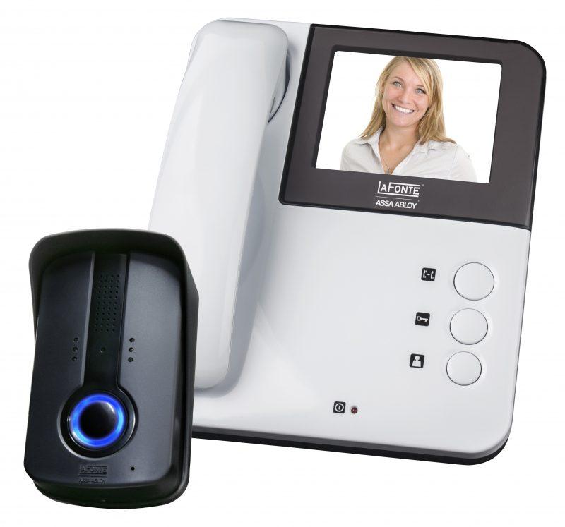 Porteiro eletrônico, modelo mais avançado de interfone com câmera.