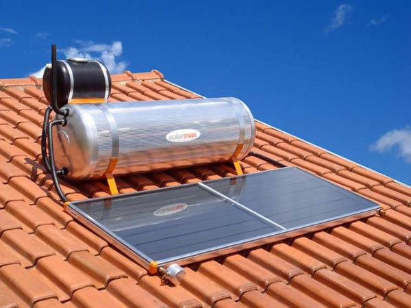 aquecedor solar para banho