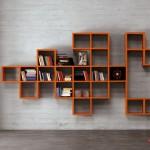 estante modular para parede