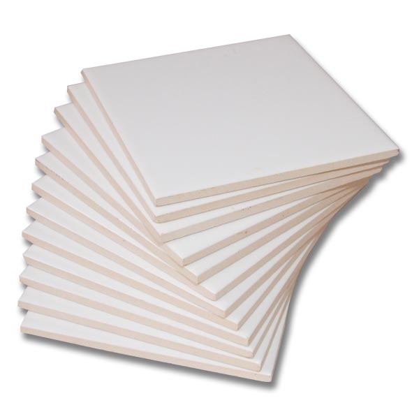 vpeças de azulejo branco