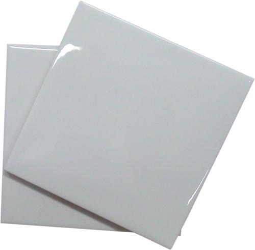 azulejo cerâmico branco