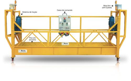 Modelo de balancim suspenso para obras
