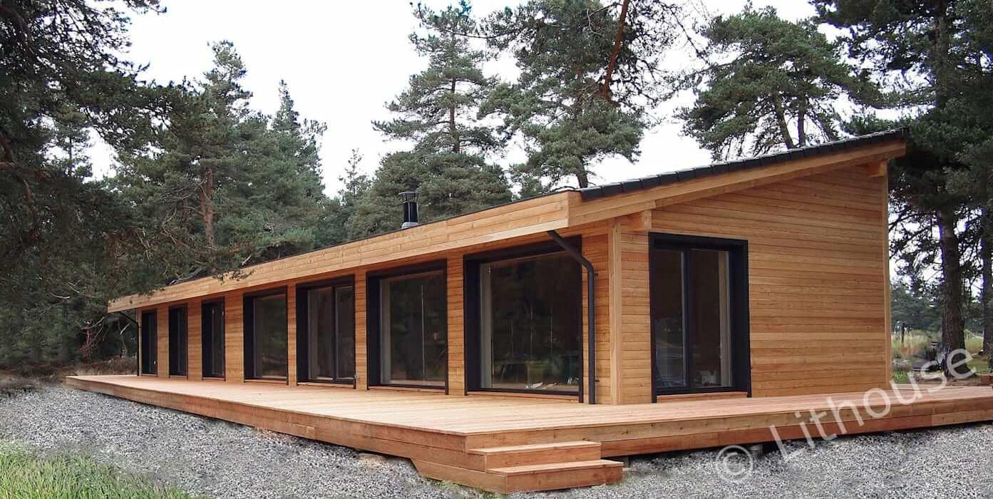 Casa simples de Madeira