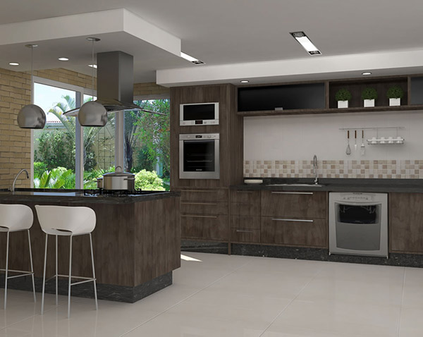 cozinhas planejadas residenciais de padrão internacional