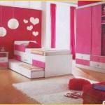 decoração de quarro rosa, ideal para garotas