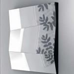 design de espelho segmentado