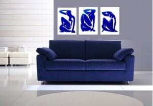 dica de quadro decorativo sobre o sofá