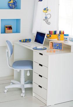 escrivaninhas para quartos infantís
