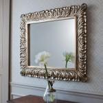 espelho decorativo simples para decoração de sala