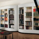estante de livros literal