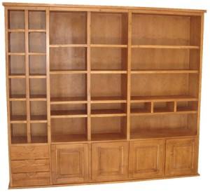 estante de madeira tradicional