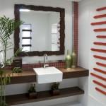 lavabo simples e elegante