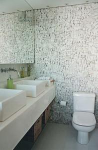 lavabo com bancada dupla