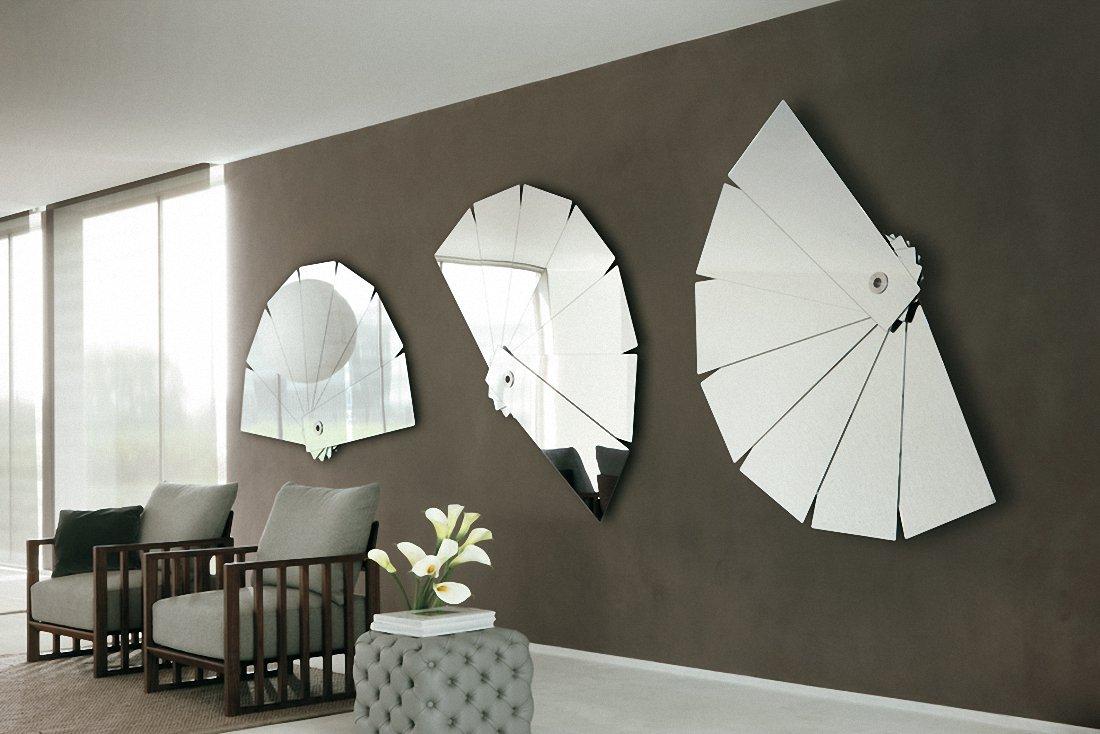 leque decorativo espelho