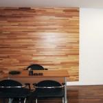 painel de fundo de madeira