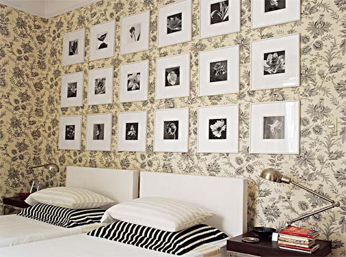 papel de parede decoração de quarto
