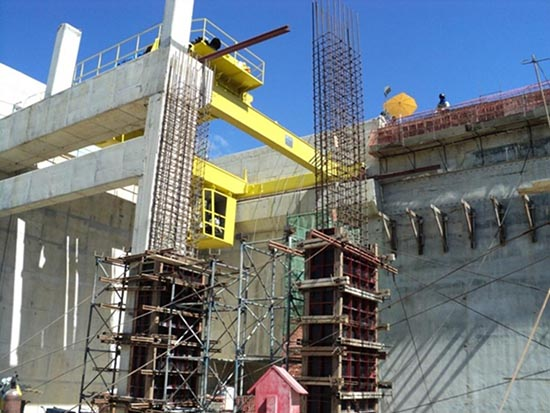 pilares de concreto armado