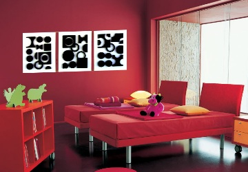 quadros decorativos com motivos abstratos