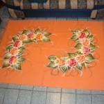 tapete artesanal para sala
